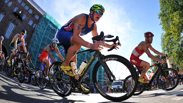 2016 ITU World Triathlon Stockholm Elite Men
