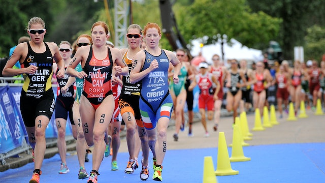 2016 ITU World Triathlon Leeds Elite Women