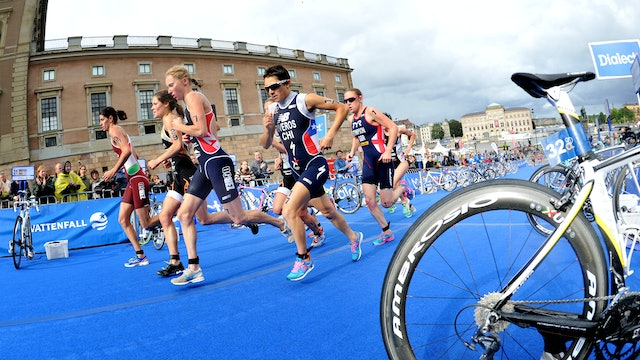 2015 ITU World Triathlon Stockholm Elite Women