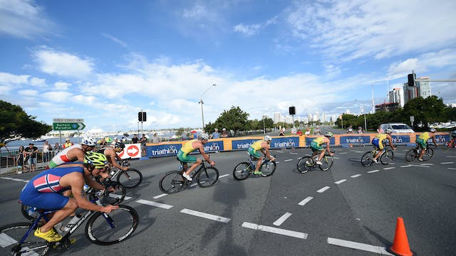 2016 ITU World Triathlon Gold Coast E...