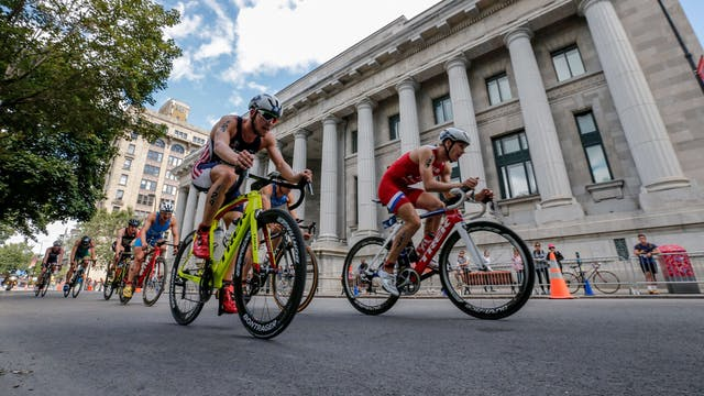 2018 ITU World Triathlon Montreal Eli...