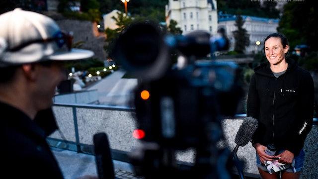 Katie Zaferes in Karlovy Vary