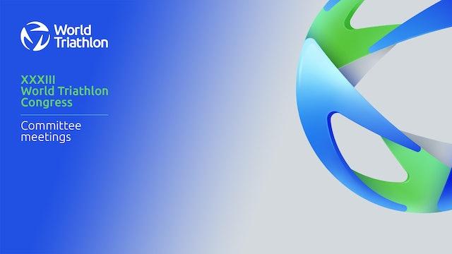28 Nov. - NF Services & Development Meeting  XXXIII WORLD TRIATHLON CONGRESS