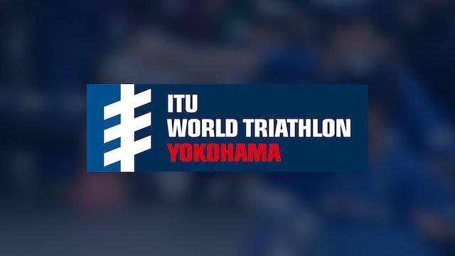 Elite Men - ITU World Triathlon Yokohama 2019