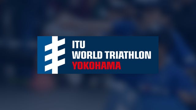 Elite Men - ITU World Triathlon Yokoh...