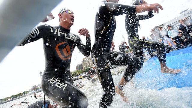 2016 ITU World Triathlon Yokohama Elite Men