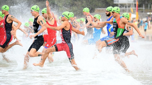 Men - ITU Mooloolaba World Cup 2019