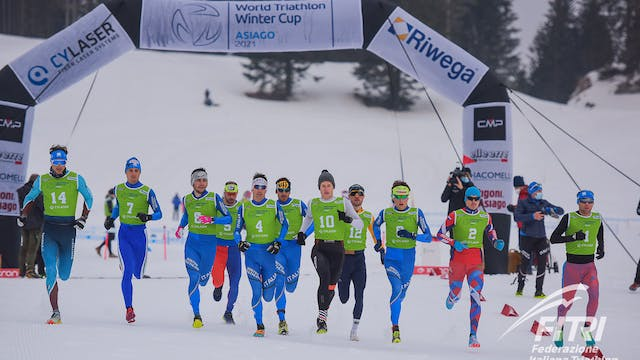 2021 World Triathlon Winter Cup Asiago