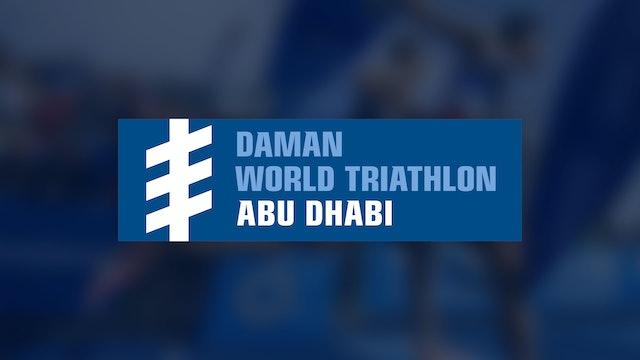 Elite Men - Daman World Triathlon Abu Dhabi 2019