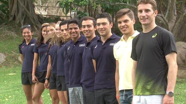 2018 ASICS World Triathlon Team in Hu...