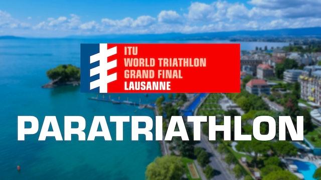 2019 WTS Grand Final Lausanne: Paratriathlon