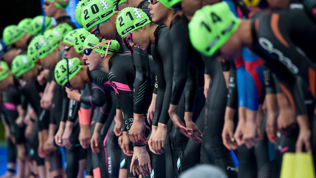 AJ Bell World Triathlon Leeds: Women's Highlights