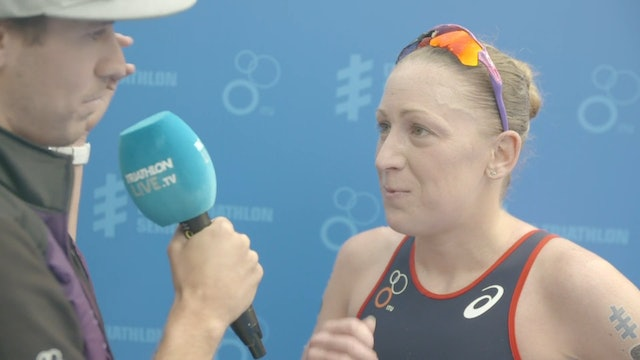Interview with Jodie Stimpson after WTS Leeds