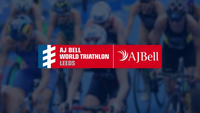 Elite Women - AJ Bell World Triathlon Leeds 2019