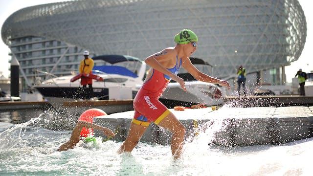 2018 ITU World Triathlon Abu Dhabi El...