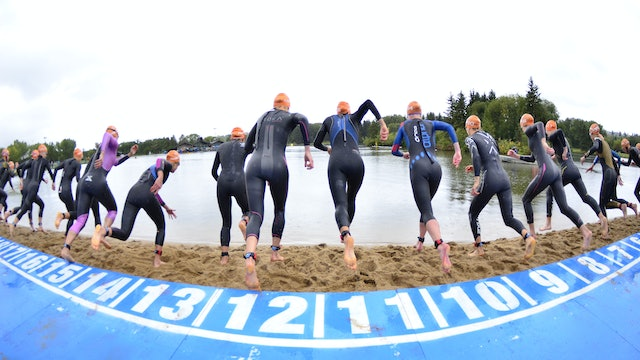 2016 ITU World Triathlon Edmonton Elite Women