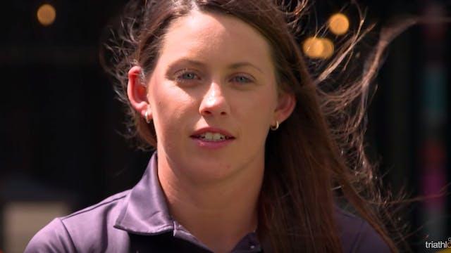 Paratriathlete Lauren Parker, Keeping...