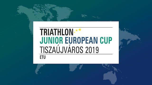 2019 Tiszaujvaros ETU Triathlon Junio...