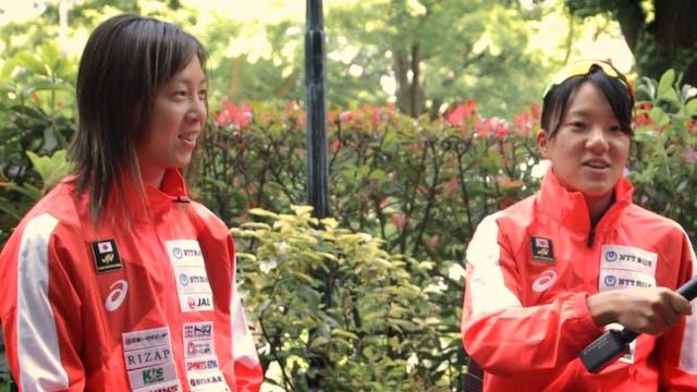 Japanese triathletes talk about Tokyo...