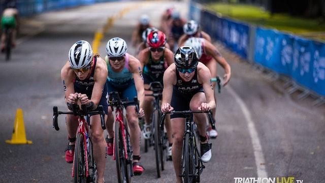 2020 Hamburg Wasser World Triathlon - Elite Women Full Replay