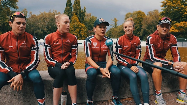 Team Norway look back over a big day at the 2020 Mixed Relay World Championships