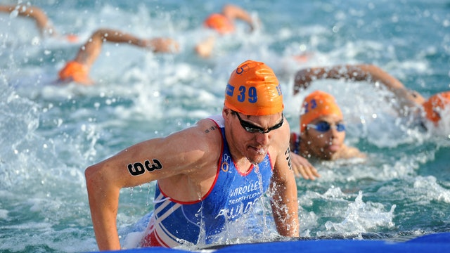 2016 ITU World Triathlon Abu Dhabi Elite Men