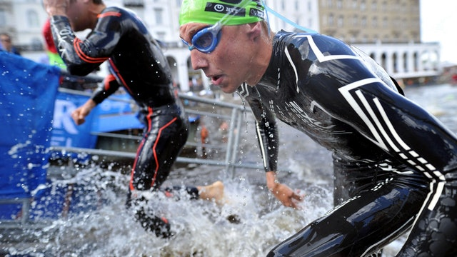 2018 Hamburg Wasser World Triathlon Elite Men