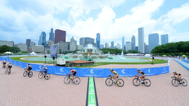 2015 ITU World Triathlon Grand Final Chicago Elite Women