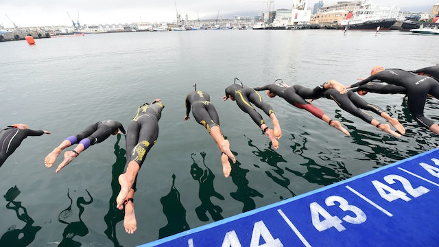 2016 ITU World Triathlon Cape Town Elite Women