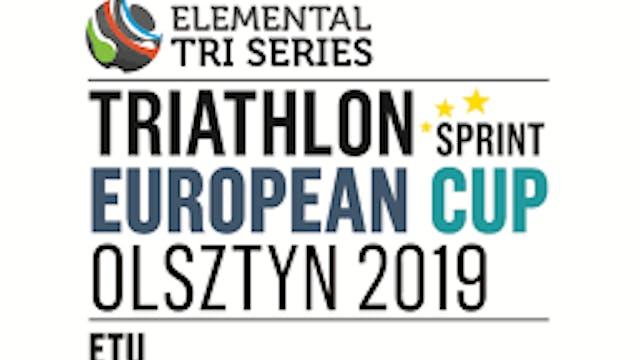 2019 Olsztyn Sprint Triathlon Europea...