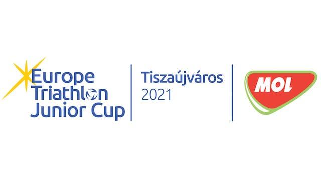 2021 Europe Triathlon Junior Cup Tisz...