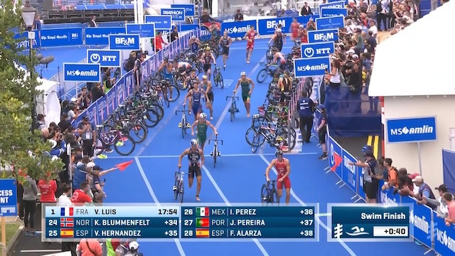 MS Amlin World Triathlon Bermuda: Men's Highlights
