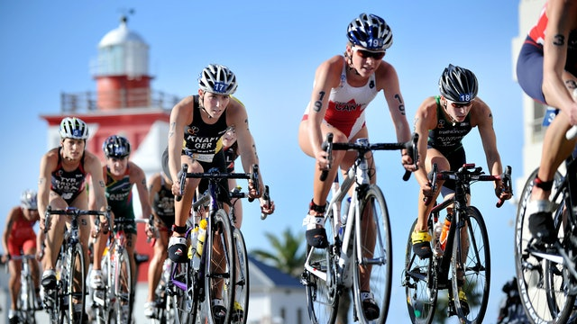 2015 ITU World Triathlon Cape Town Elite Women