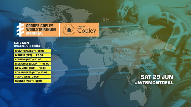 Men - Groupe Copley World Triathlon M...