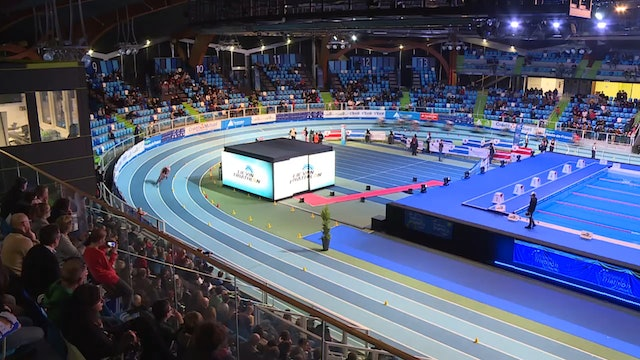 Elite Men's Final A & Medal Ceremonies | Lievin Indoor Triathlon Festival 2019