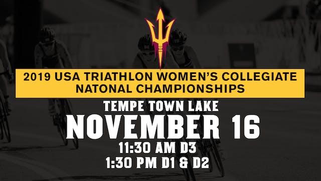 2019 USAT Women's Collegiate Triathlo...