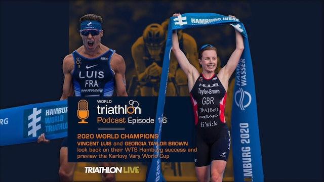 World Triathlon Podcast Ep. 16 2020 World Champions