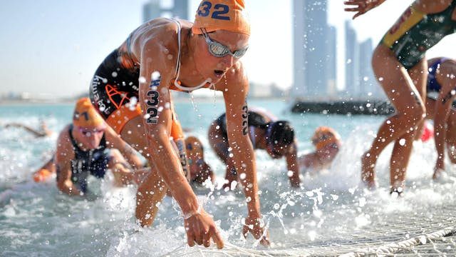 2017 ITU World Triathlon Abu Dhabi Ma...