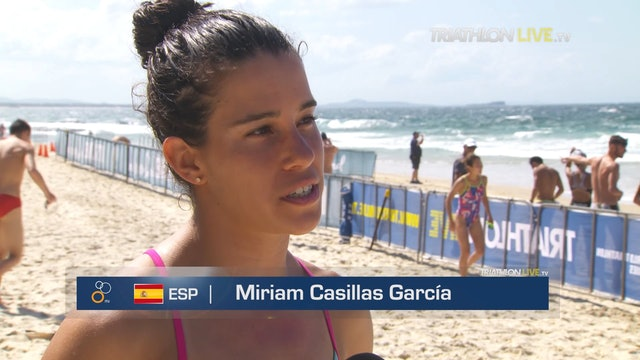 Interview with Miriam Casillas García. Mooloolaba WC 2019