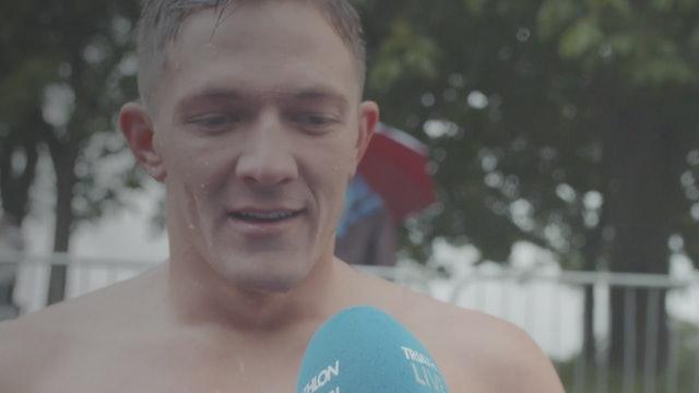 Tony Smoragiewicz - wetsuit skills