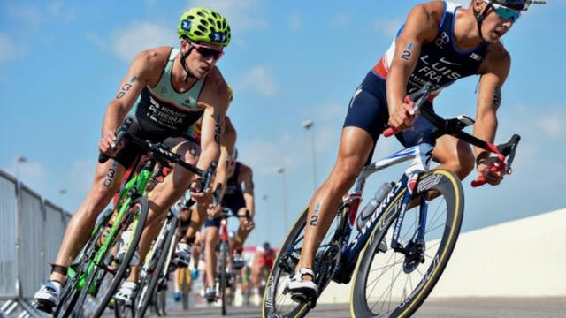 Elite Men - Daman World Triathlon Abu...