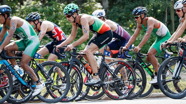 2018 ITU World Triathlon Edmonton Elite Men