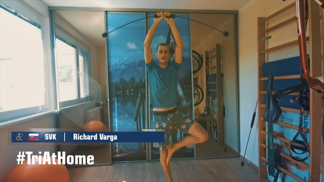 Richard Varga Training Session
