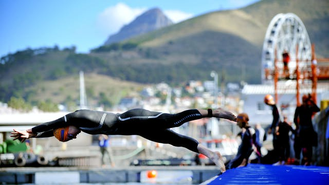 2015 ITU World Triathlon Cape Town Ma...