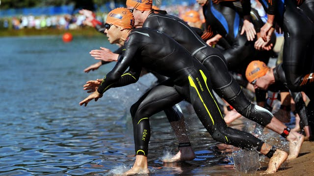 2015 ITU World Triathlon Edmonton Eli...