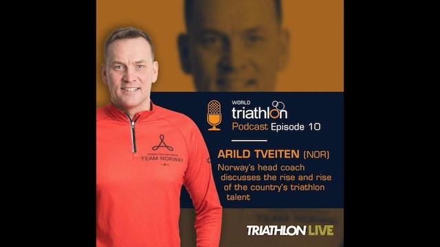 World Triathlon podcast Ep.10 Arild Tveiten