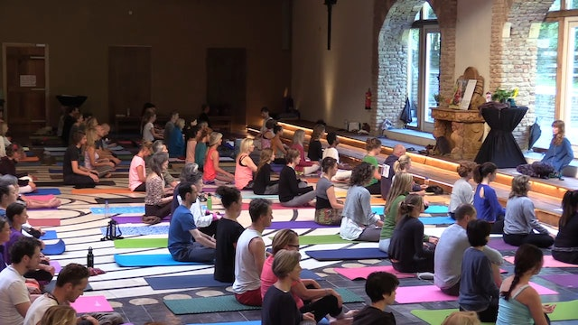 Yoga Session 3 - 6 Day Netherlands Retreat