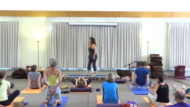 Mt Madonna Session 16 - yoga