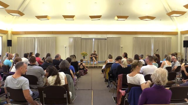 Mt Madonna Session 4 - Meditation & Yoga