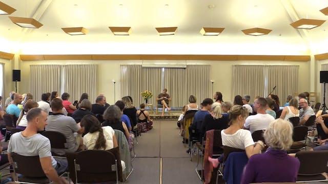 Mt Madonna Session 4 - Meditation & Yoga